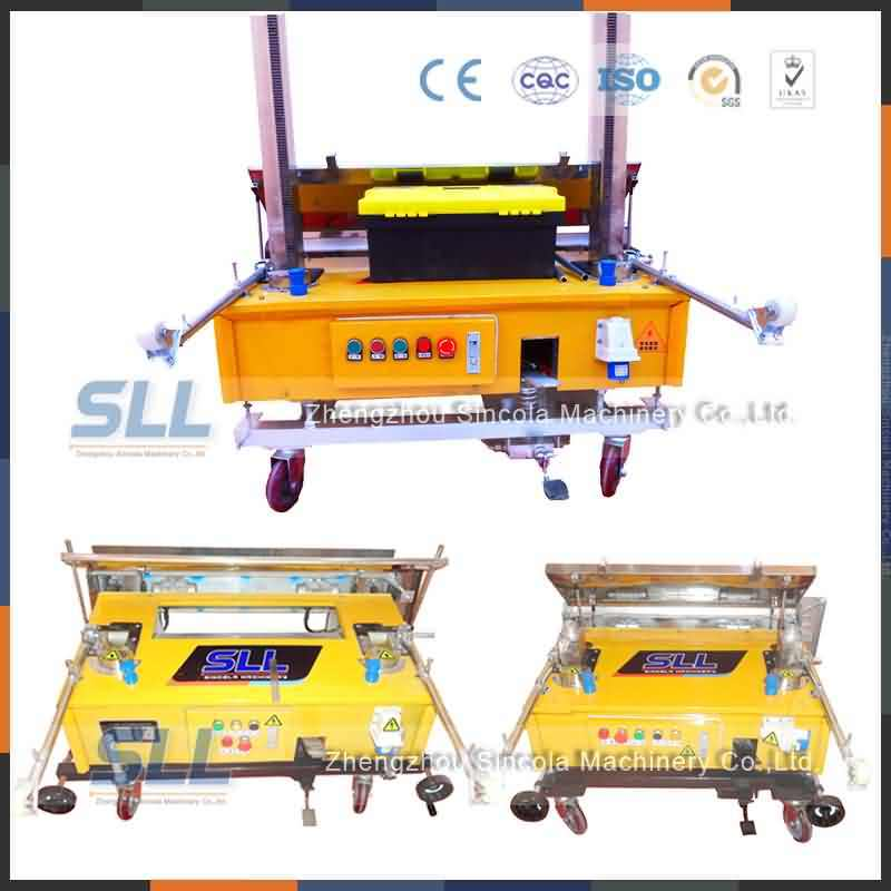 Sincola Automatic Wall Plaster Rendering Machine Robot
