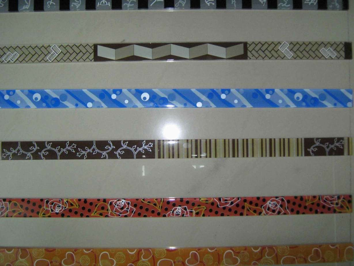 China glass strip tile for decoration