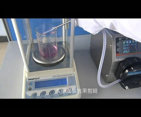 BT300F Intelligent Dispensing Peristaltic Pump 0.006-1600mL/Min