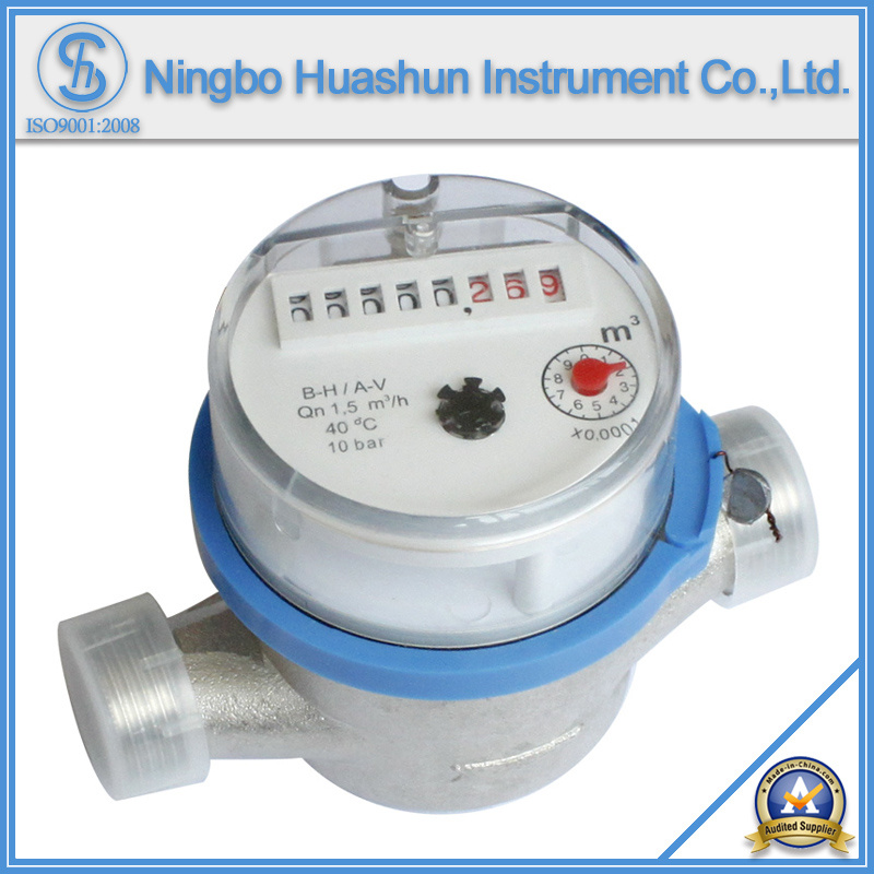 Single Jet Dry Type Brass Body Water Meter (LXSC-15D~40D)