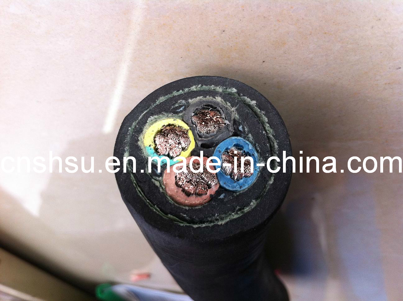Rubber Reeling Cable