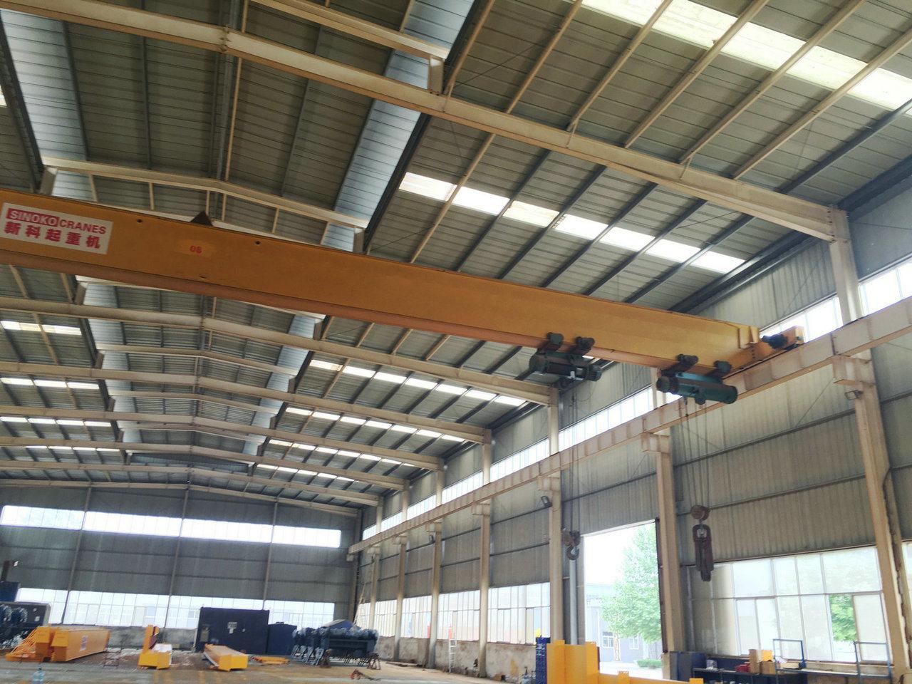 5ton 10ton 15ton 20ton Single Girder Overhead Crane with Electric Hoist