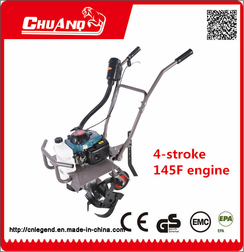 4-Stroke Mini Cultivator Mini Tiller 73cc with New Design