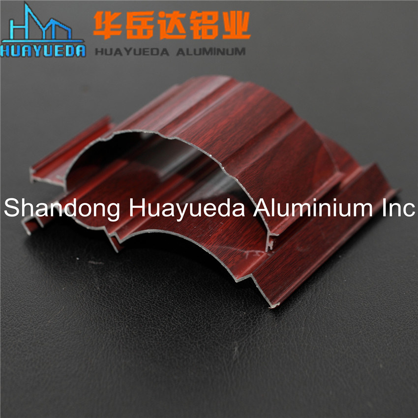Wooden Grain Aluminum Profile /Aluminum for Windows and Doors