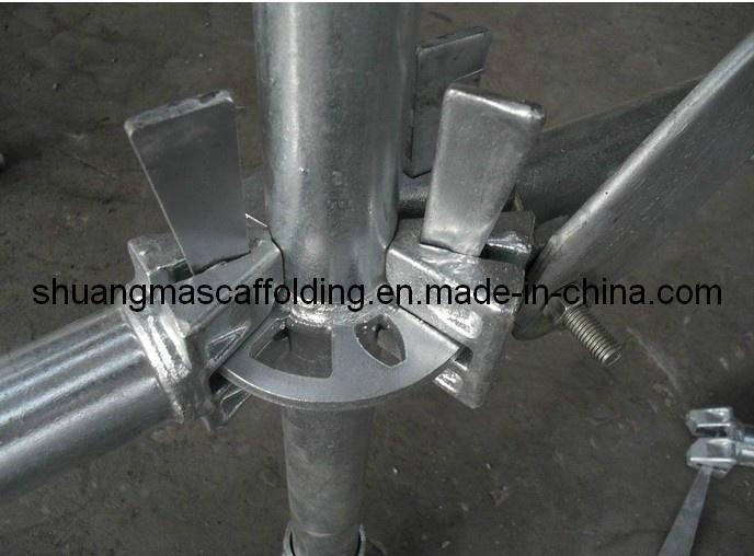 En12810 Construction HDG Steel Ringlock Scaffolding System