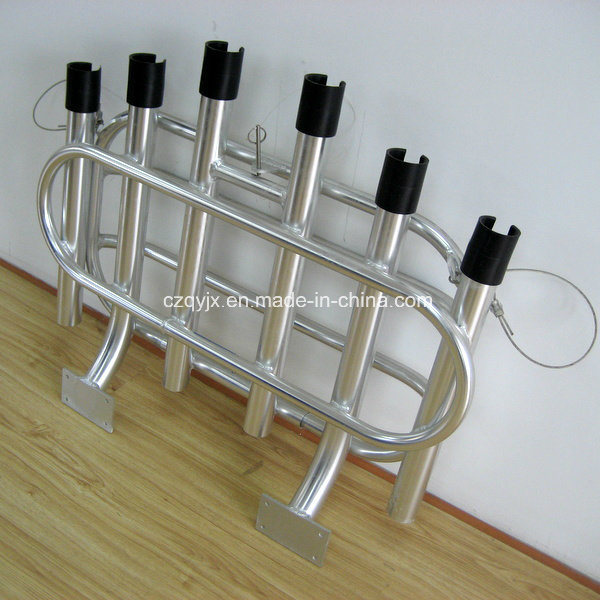 Aluminum Foldable Fishing 6 Road Rack Fishing Product