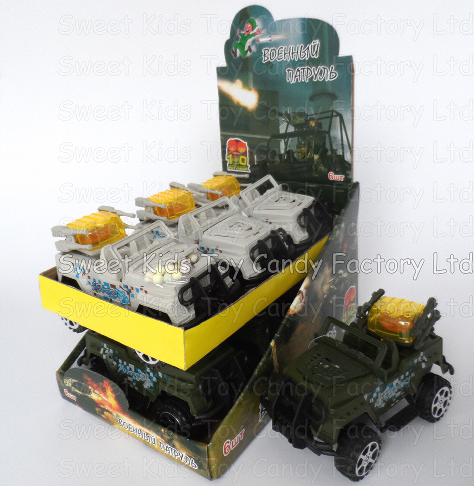 Military Jeep Toy Candy (120401)
