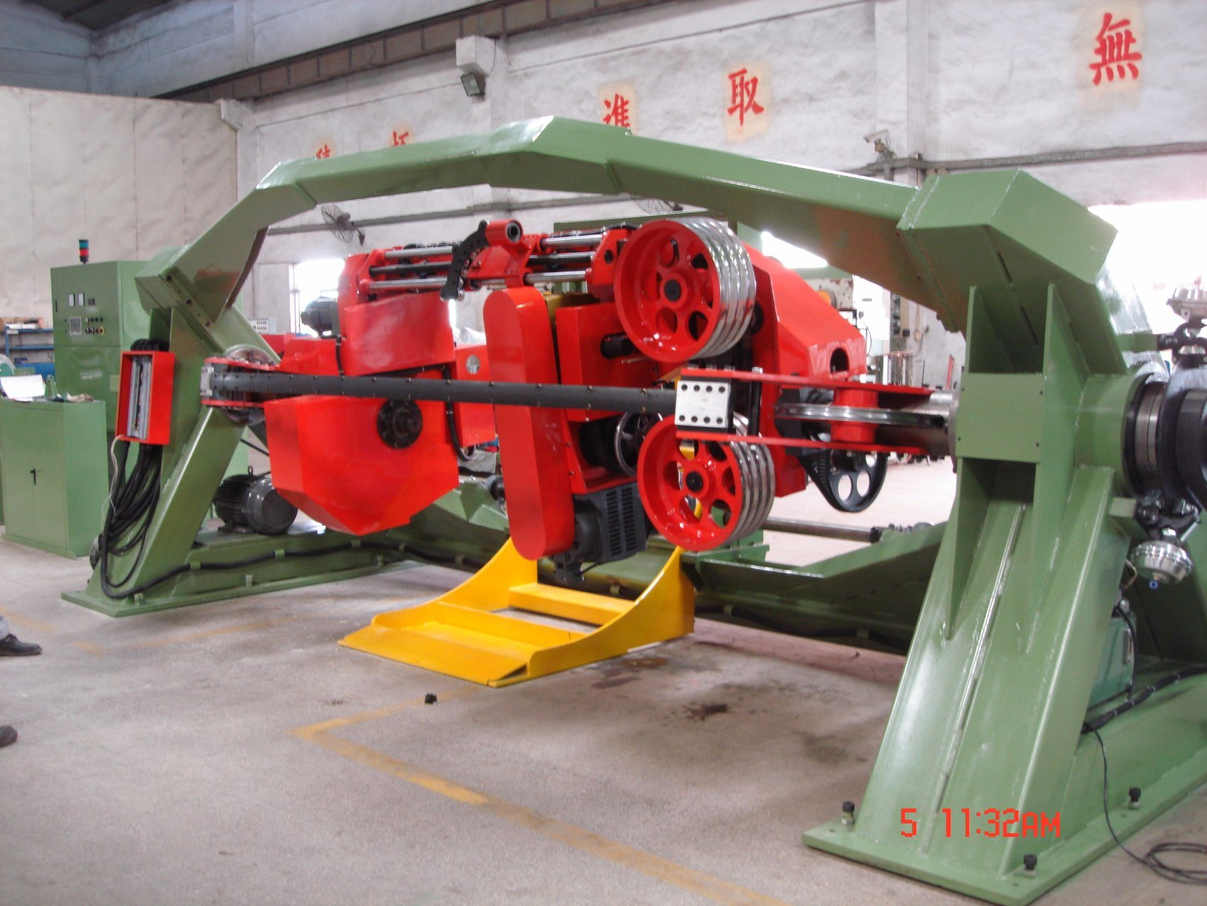 Double Twist Wire and Cable Stranding Machine