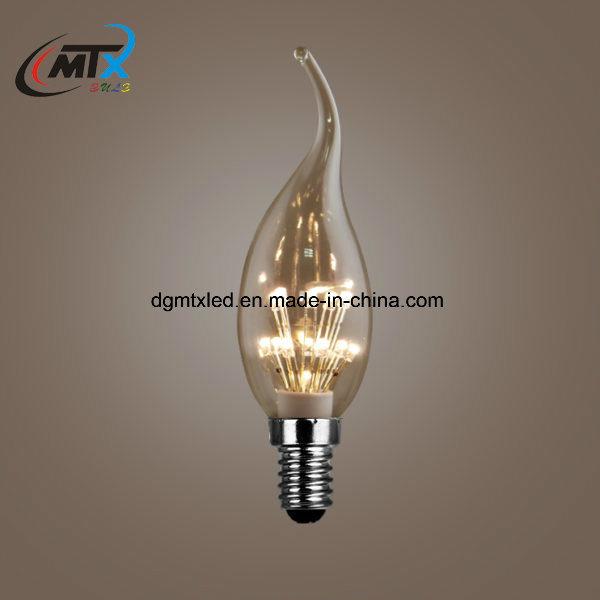 MTX Brilliant vintage C35 ceiling LED candle LED lighting lamp bulb