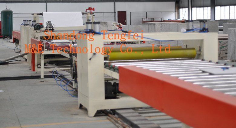 Cement Board PVC/Aluminum Foil Laminating Machine