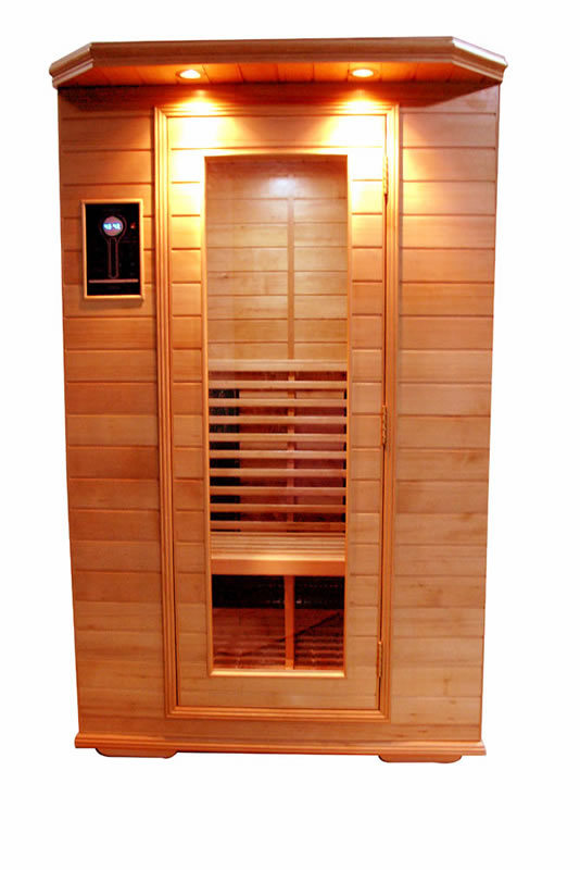 Infrared Sauna With Salt Wall In Nh Hotel Zandvoort The: China Far Infrared Sauna Rooms With Tens(KG-1202)