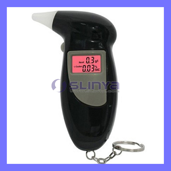 5 Second Quick Check Driver Safety Keychain Digital Breath Alcohol Tester