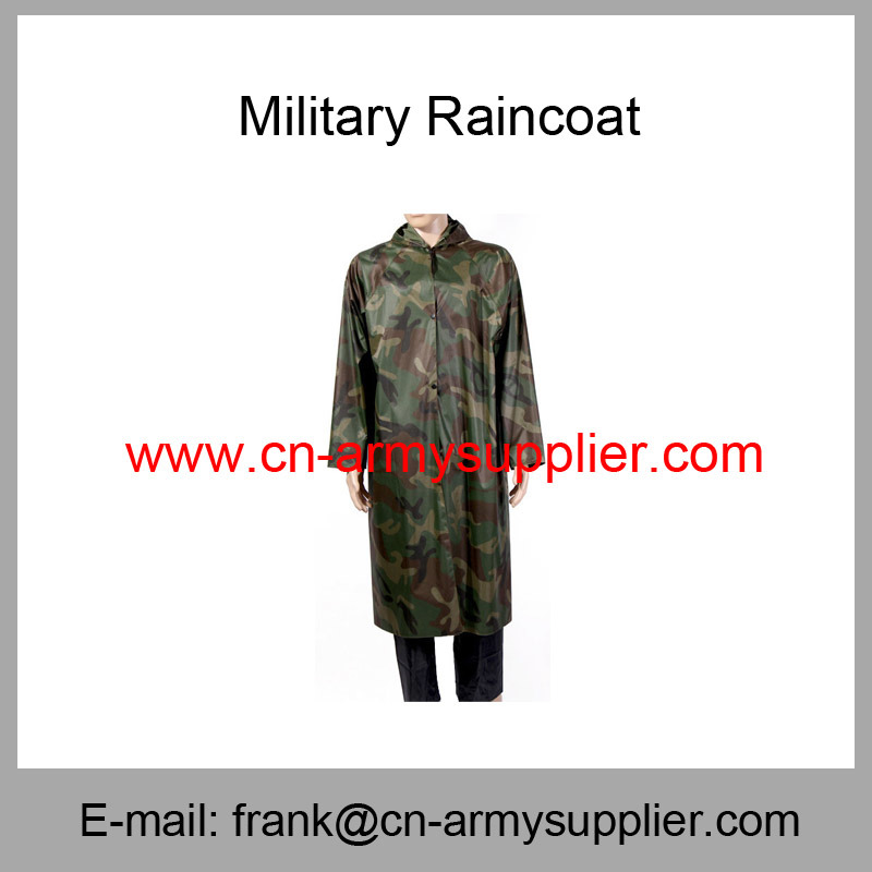 Camouflage Raincoat-Army Raincoat-Police Raincoat-Military Raincoat