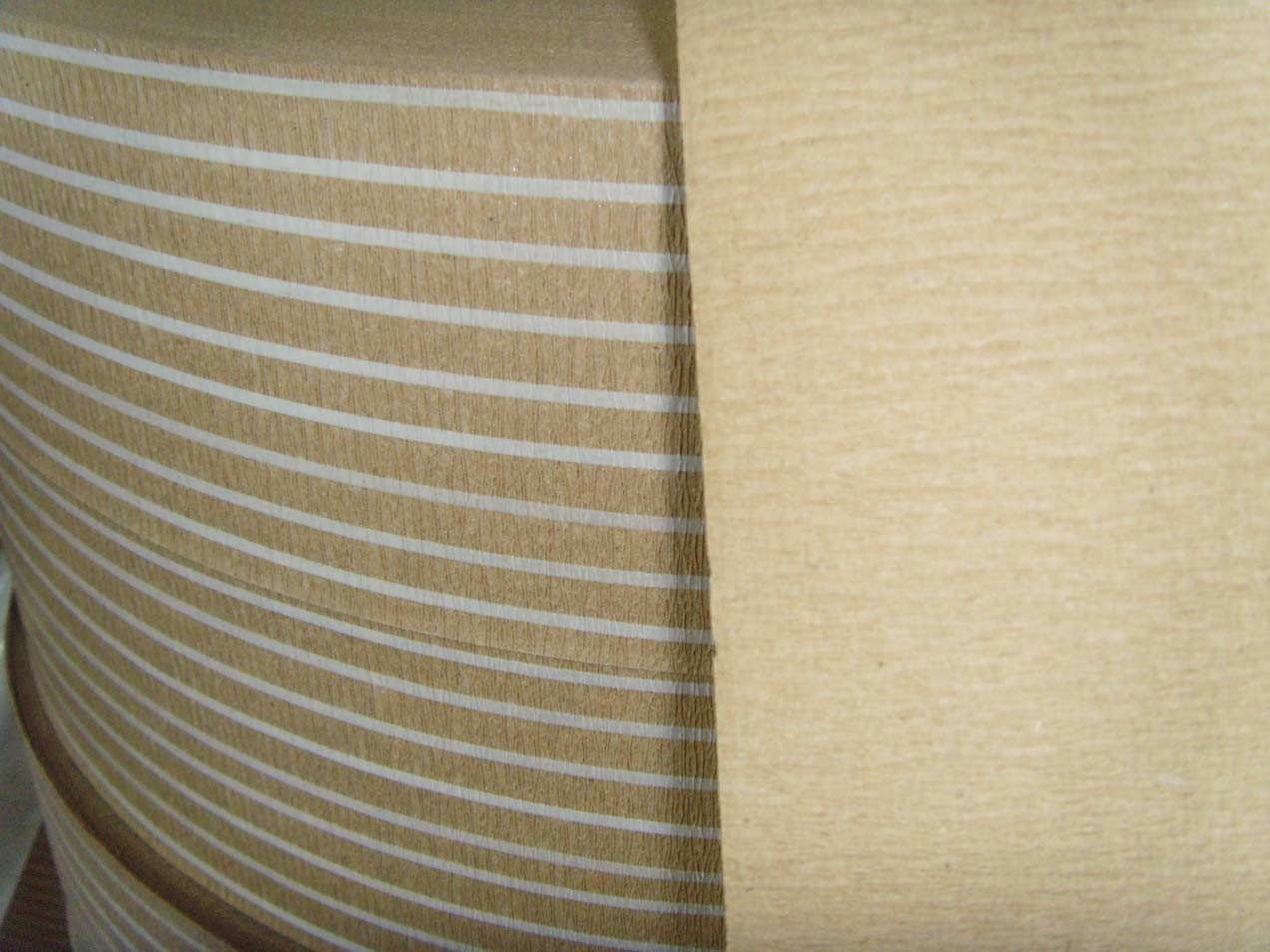 Crepe Paper With Reinforced PP Strip (SF)