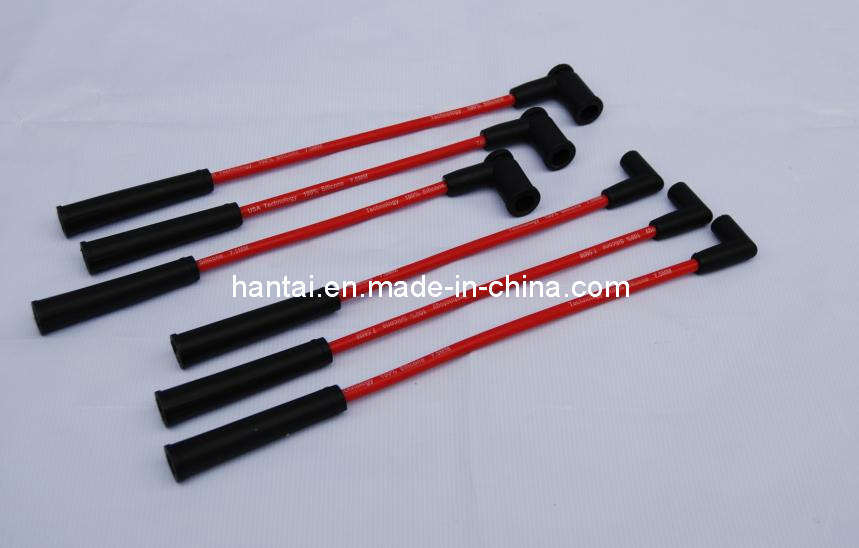 High Performance Silicone Ignition Cable Set, Ignition Leads, Ignition Lead Set