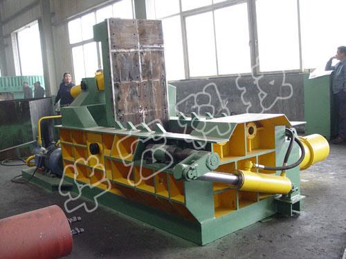 Hydraulic Scrap Aluminum Alloy Steel Metal Baler Recycling Machine