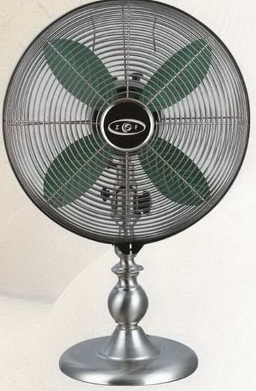 Decorative Table Fans : Electrical fan metal decorative table ft e
