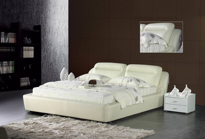 modern leather furniture on Modern Leather Bed   Bedroom Furniture  C863p    China Leather Bed