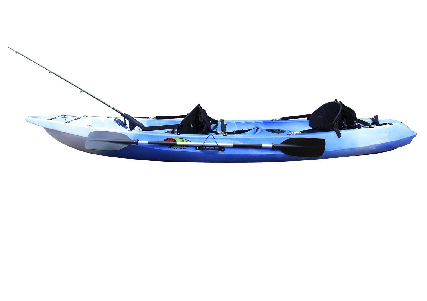 Boating swimming supplies cixi tinplan fireplace for Double fishing kayak