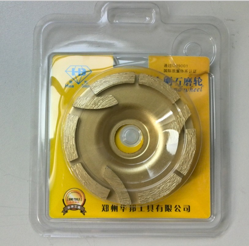 Diamond Grinding Wheel --Three -Disc (Sharp cutting)