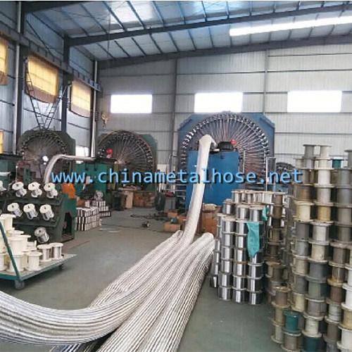High Pressure Flexible Metal Hose Wire Braiding Machine