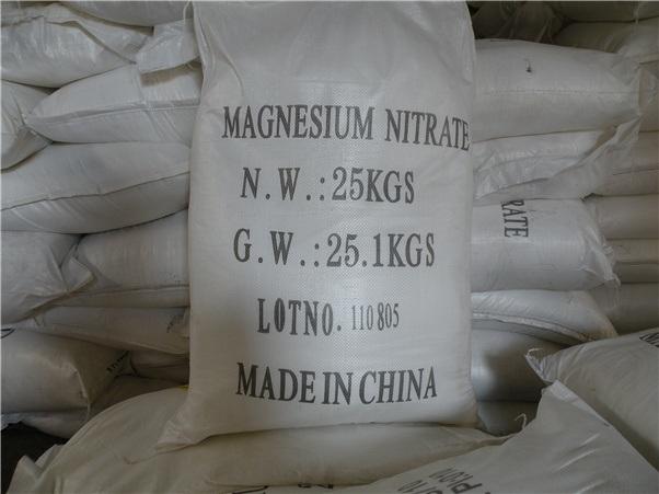High Quality Magnesium Nitrate Fertilizer Grade