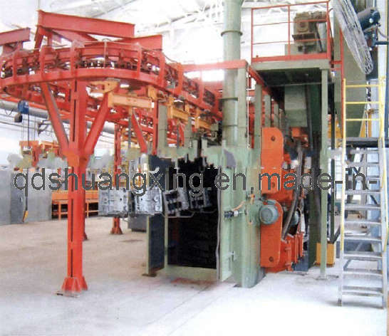 More Hangers Shot Blasting Machine