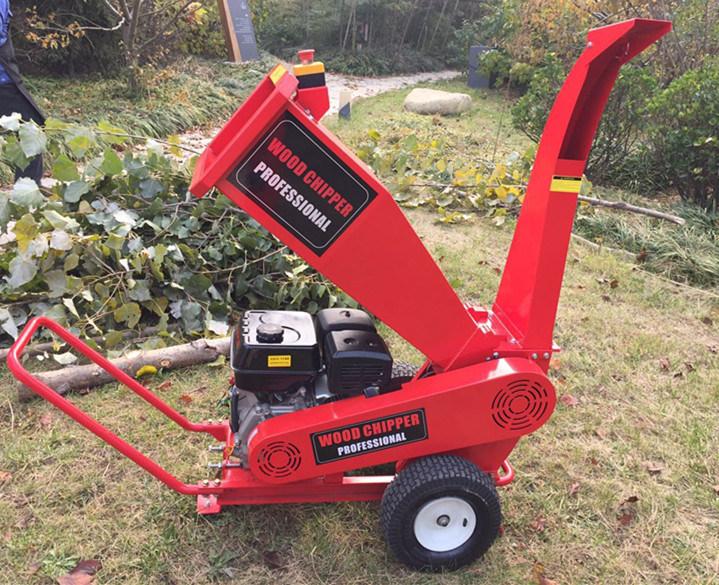 High Quality 9HP Garden Tree Chipper Shredder/Wood Crusher/Wood Cutter