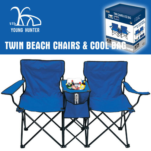 China adult 39 s twin chairs with cooler bag cup holder for Y h furniture trading