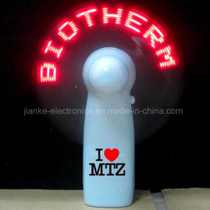Mini LED Flashing Logo Fans with Logo Printed (3509)