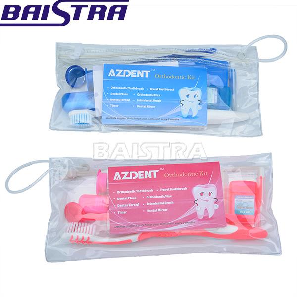 Azdent Oral Hygiene 8 in 1 Portable Dental Orthodontic Kit