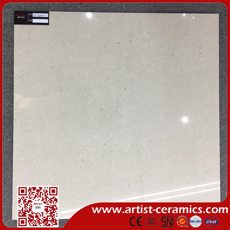 Travertine Double Loading Porcelain Tiles for Floor Size 600X600mm