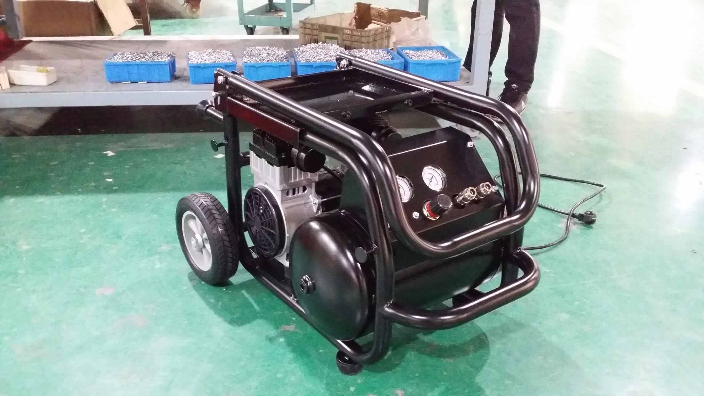 Tat-2520p Oil- Free Silent 2.0HP Manumotive Air Compressor (2.5HP 20L)