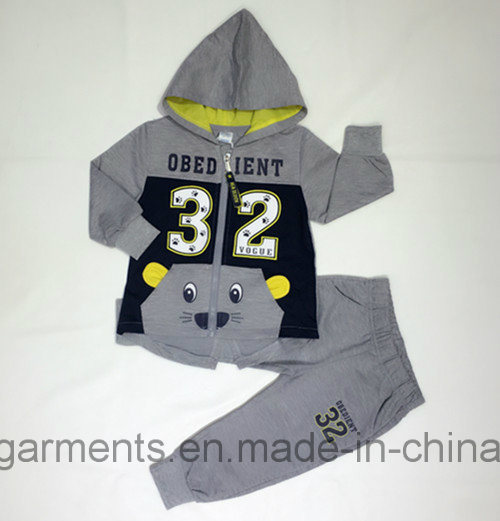 Cute Kids Boy Sports Wear Suit in Kids Clothes