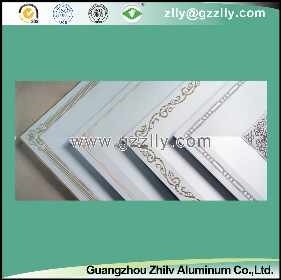 Elegant Roller Coating Printing Wall Panel for Building Material