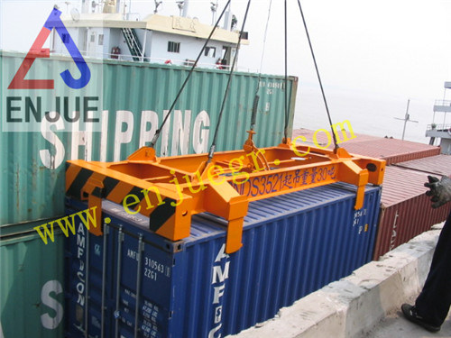Manual Semi Automatic Container Lifting Spreader Container Lifting Beam