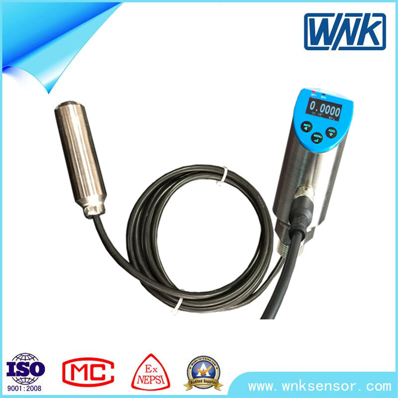IP65/IP68 Stainless Steel Electronic Level Transducer with 4-20mA/0-10V/0-5V/Modbus Output
