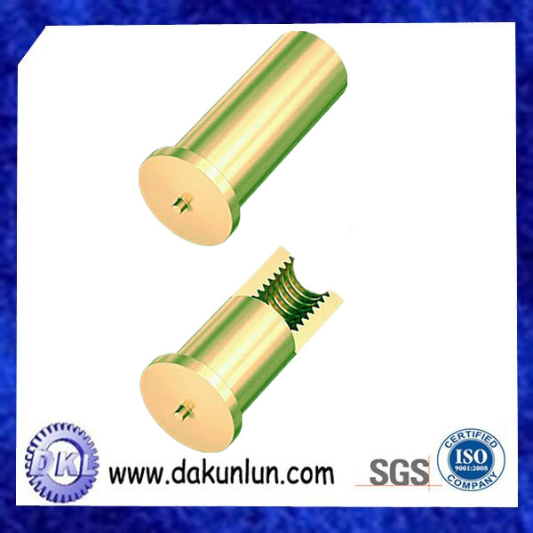 Brass Press in Screw Threaded Insert Stud/Bolt