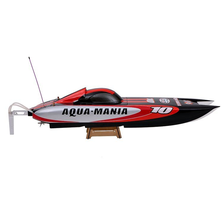225bl075ap-Original Aqua Mania 1300bp (A) 2.4G High Speed RTR Electric Fiberglass RC Boat with Pistol Transmitter