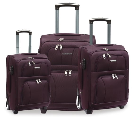 1200d Polyester Soft Luggage 20/24/28