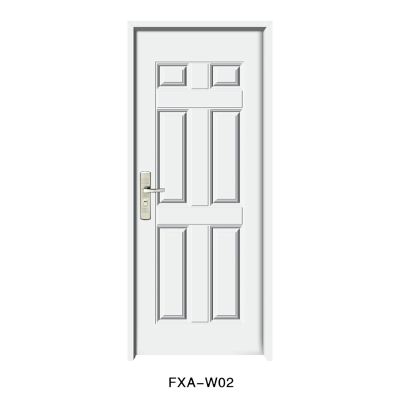 6 Panel American Steel Door with Competitive Price (SX-3-2003)