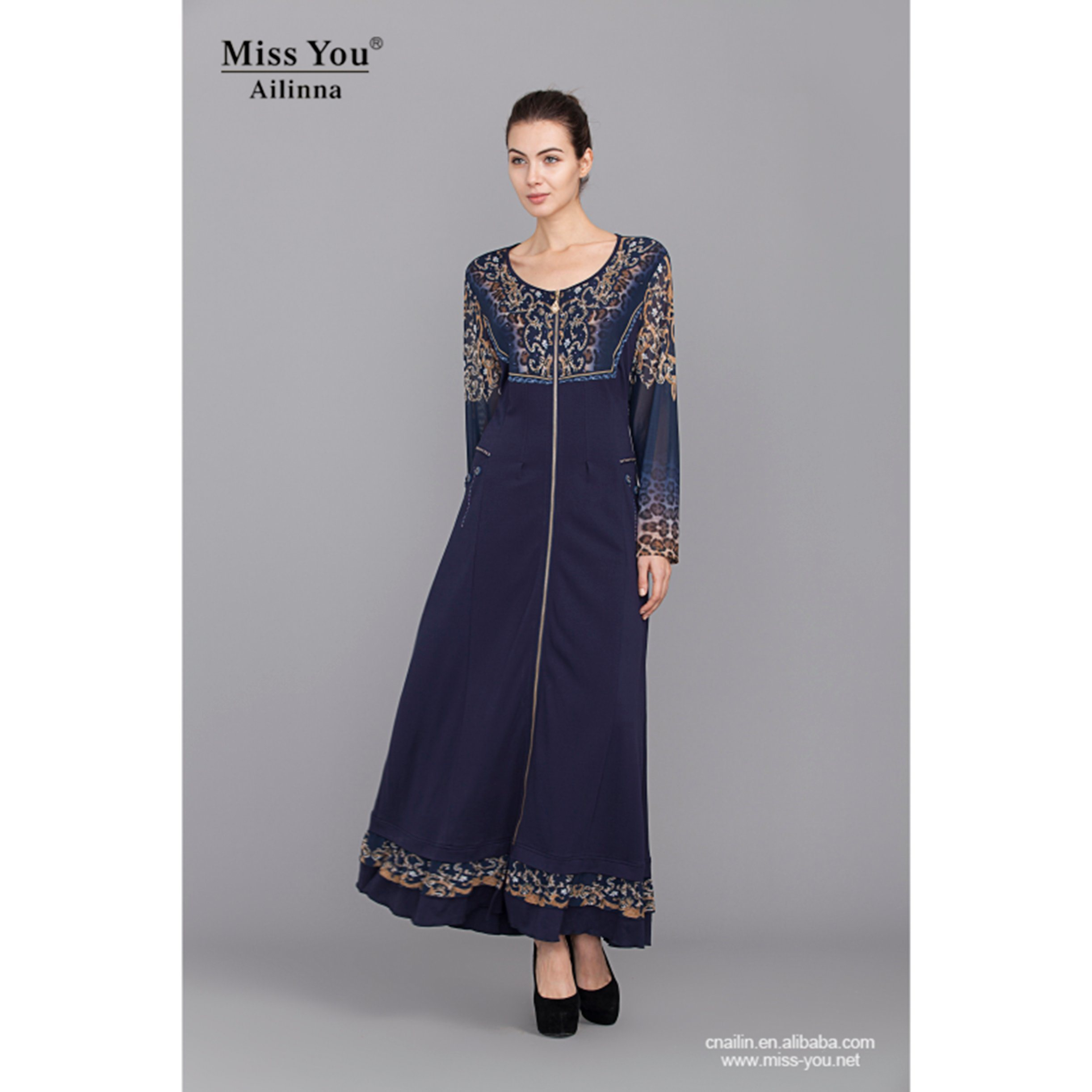 Miss You Ailinna 102871 Women Latested Design Muslim Dress