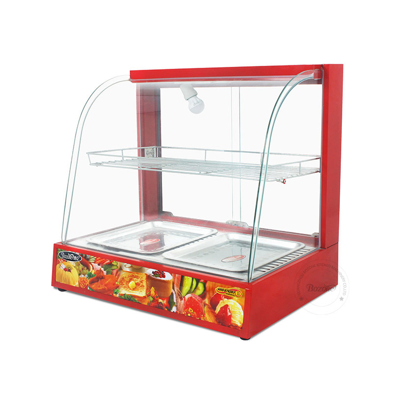 Hotsale Low Price Food Warming Display Showcase Dh-2p
