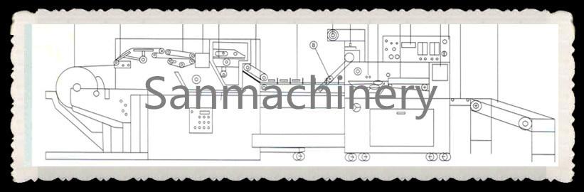 Roll Type Wet Tissue Making Machine