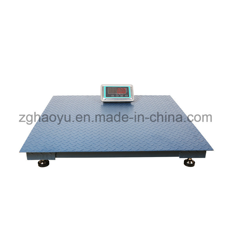 1.0m*1.0m 1t Digital Floor Scale for Weighing