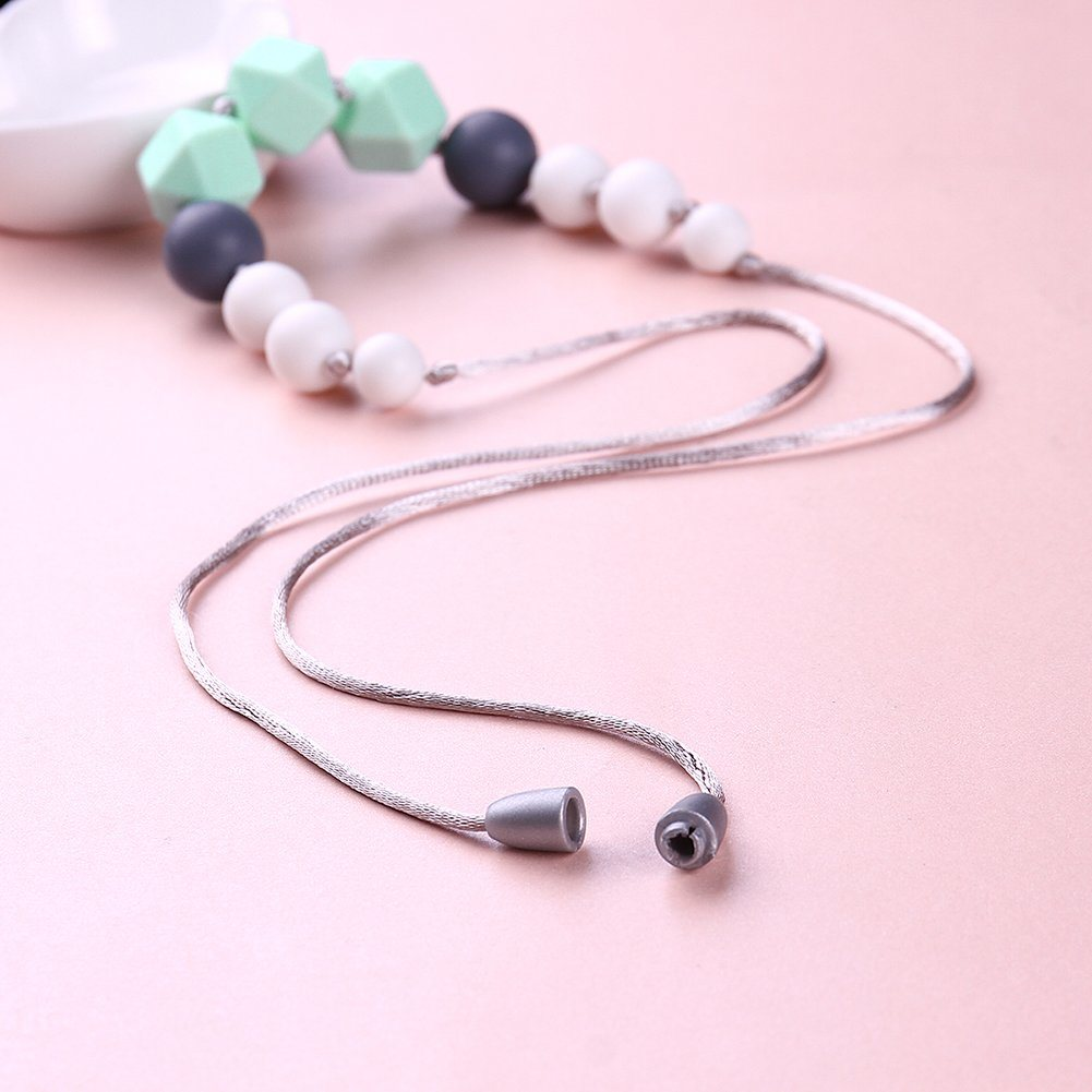 2017 Fashion Silicone Bead Necklace for Child for Women