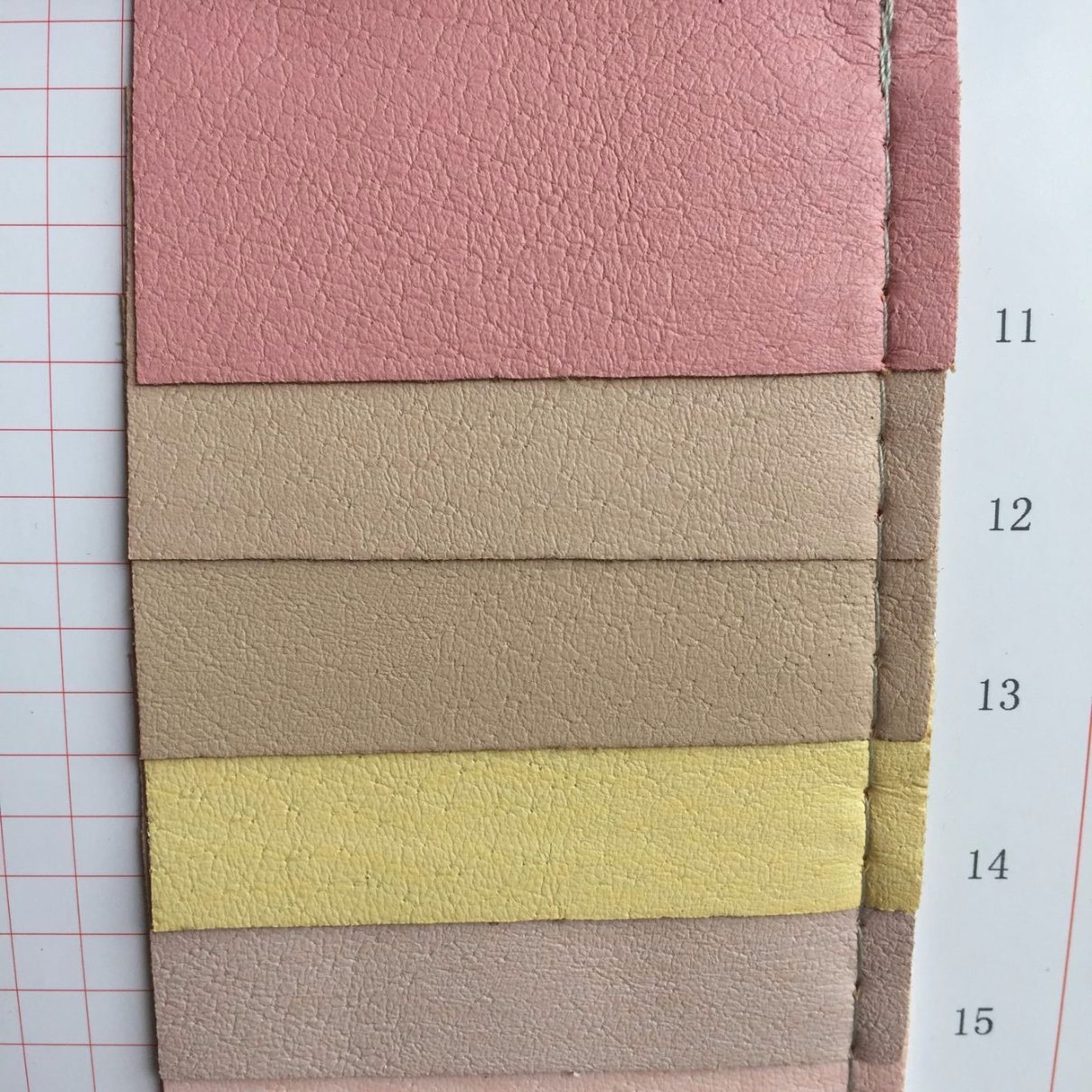 Breathable Shoes Lining Leather Fabric PU Material for Shoes Lining