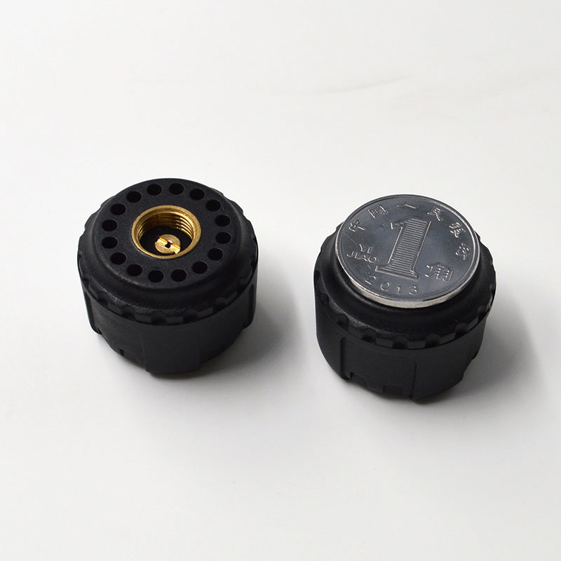Solar TPMS for 4 Wheels Commercial Vehicle and Car with External Wireless Tire Sensor
