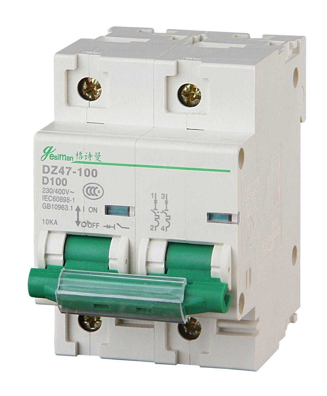 Miniature Circuit Breaker 2p Dz47-100h