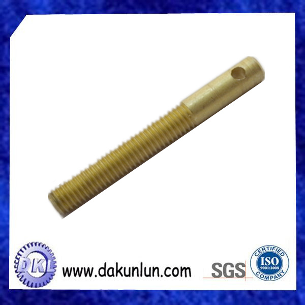 Brass Press in Screw Threaded Insert Stud/Bolt